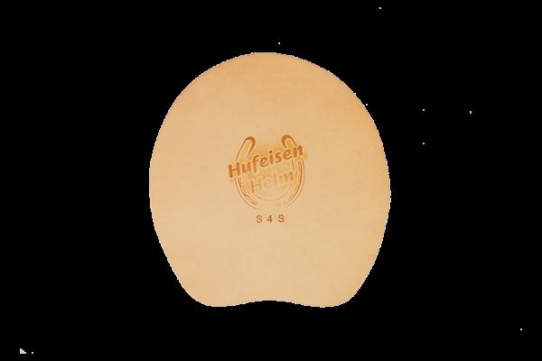 Sohle Hufeisen Helm Leder